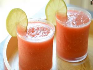 Watermelon Slushies: Frozen Summer Drink Idea