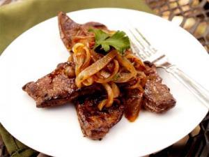 Calf'S Liver Wasabi Mash