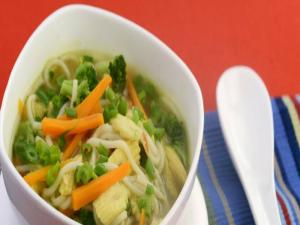 Lemon Grass Vegetable and Noodle Soup
