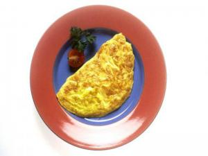 Double Cheese Omelet