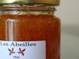 honey at Les Abeilles