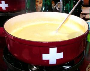 Classic Swiss Fondue