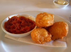Bavarian Cheese Puffs