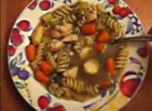 Roasted Carrot Garlic Soup