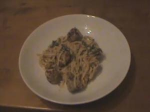 Simple Sausage Linguine