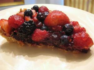 Italian Triple Berry Tart