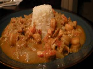 Surfin Sapodeaux's Crawfish Etouffe