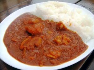 Tomato & Chicken Curry
