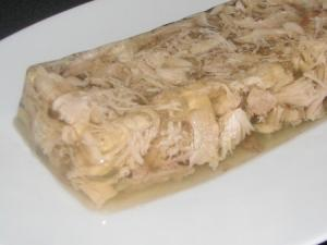 Chicken In Gelatin