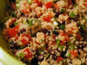Quinoa Salad with Moonblush Tomatoes And Nuts
