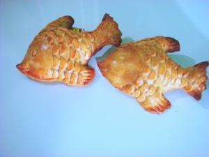 Homemade Fish Shaped Appetizer