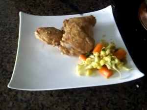 Baked Chicken Mughlai Style / How to Make Almond Chicken