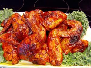 Hot Wings with a Caribbean Twist