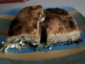 The Greek Cook: Spanakopita (Spinach Pie)