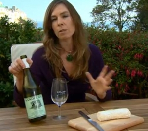 Enjoy Bacchus with Goat Cheese