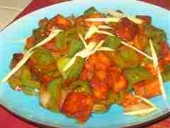 Indian Chilli Paneer