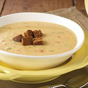 Cheese soups - delicious for dinner