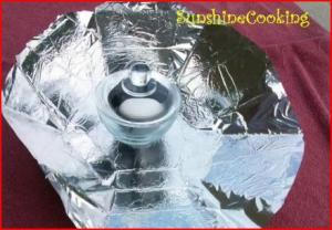 Mini Solar Cooker Test - 1