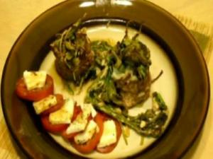 Steak and Spinach Rolls