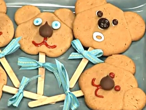 How to Make Cookies: Teddy Bear Cookies