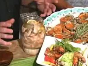 Pickled Shrimp in Canola Oil