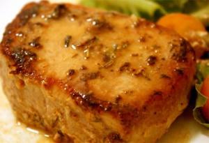 Pork Chops Luau