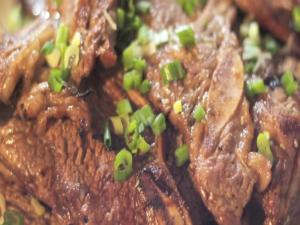 GalBi, Korean BBQ Short Ribs