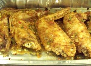 Mandarin Turkey Wings