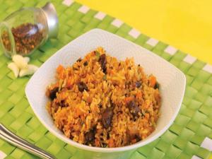 Mexican Rice by Tarla Dalal