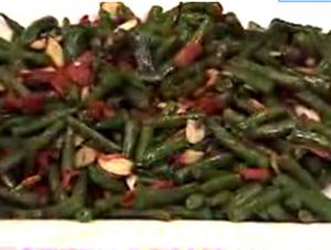 Sautéed Green Beans With Bacon And Almonds