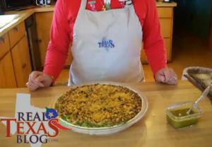 Black Eyed Peas with Jalapenos Pie - Part 5 - Garnishing