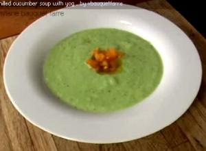 How to Make Chilled Cucumber Soup?