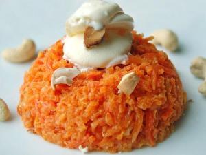Spicy Carrot Pudding