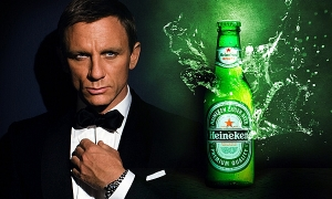 James Bond DItches Martini For Beer