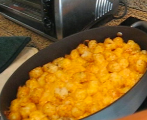 Tater Tot Casserole With Ground Beef