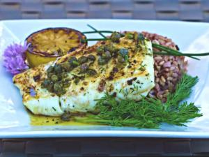 Halibut With Capers