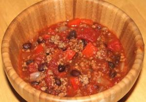 Pork and Beef Chili