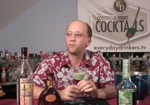 Lovely Caramel Mint Martini