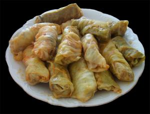 Cabbage Dolmades