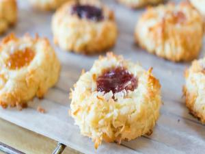 Jam Thumbprint Cookie: Christmas Cookie Collaboration