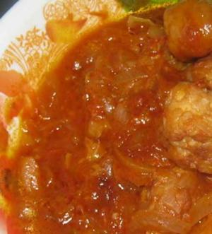 African Fish Ball Stew