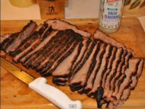 WSM Beef Brisket Mesquite Smoked