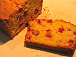 Cranberry Orange Nut Loaf
