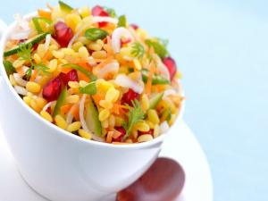 Moong Dal ki Chaat (Healthy Snack)