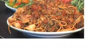 Healthy Vegetable and Meat Marinara