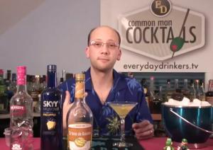 Refreshing and Fruity Banana Night Martini
