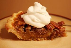 Vanilla-Flavored Pecan Pie