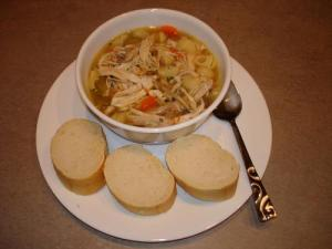 Homemade Chicken-Noodle Soup