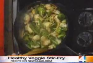Quick Veggie Stir-fried