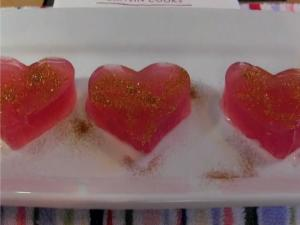 Cosmopolitan Cocktail Jello Shots - Valentine's Day!